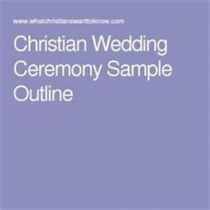 christian wedding ceremony sample outline wedding With christian wedding ceremony outline