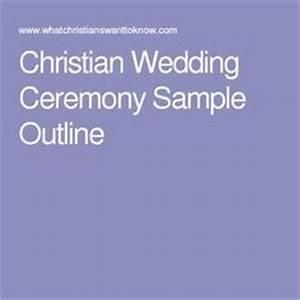 Christian wedding ceremony sample outline wedding for Christian wedding ceremony outline