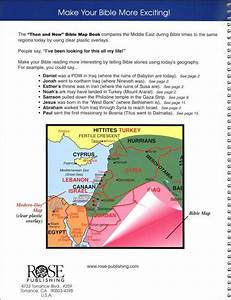 Rose Bible Charts Maps And Timelines Then Now Bible Maps Book Rose Publishing 004294