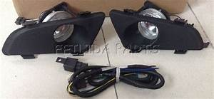 Bumper Fog Lights Pair Lh Rh   Wiring Harness Assembly For