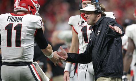 Kirby Smart's Georgia Bulldogs Dominate Auburn In Sec