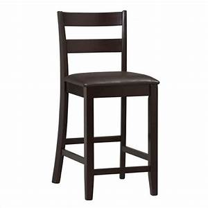 "24"" High Soho Counter Stool in Rich Espresso - 01866ESP-01"