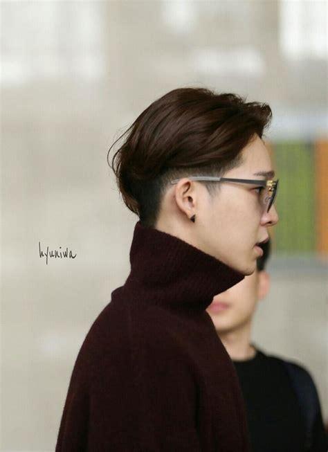 model rambut pendek pria korea terkini style rambut