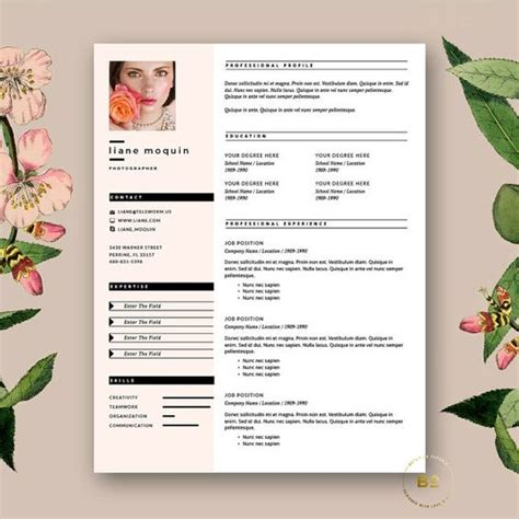 Stylish Resume Templates Word by Free Cover Letter Resume And Cover Letters On