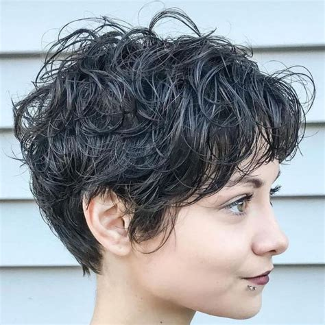 Click through to see all the different ways to cut and style a pixie of different hair colors, types the top pixie haircuts of all time. Long Curly Pixie Hairstyle in 2020   Curly pixie hairstyles, Short shag hairstyles, Short curly hair