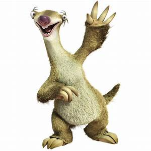 Toy from Ice Age Sid the sloth - Ice Age
