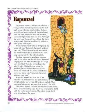 rapunzel subtracting    digit numbers  funny