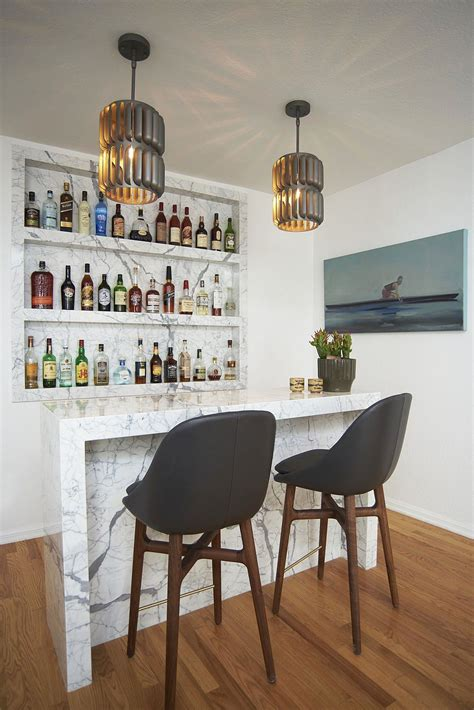 Tiny Home Bar by Beachy Bachelor Blue White And An Of Contemporary