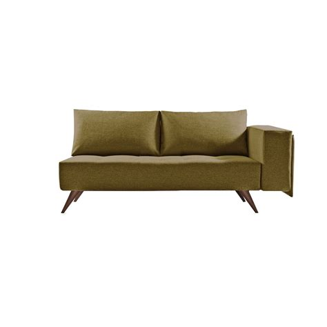canape meridienne design canapé méridienne scandinave 2 places marron prof 80cm