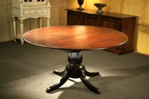 pedestal kitchen table kitchen tables with black fluted pedestal