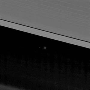 New Cassini Image Shows Earth and Moon between Saturn's ...