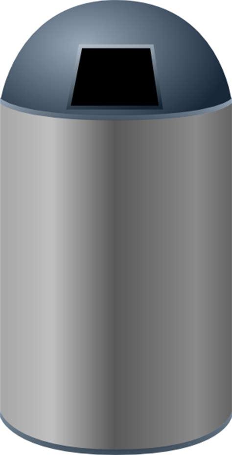 poubelle cuisine automatique 50l trash can clip at clker com vector clip