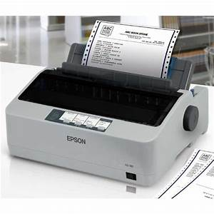 New epson lq 310 dot matrix printer end 1 21 2016 215 pm for Invoice software for dot matrix printer