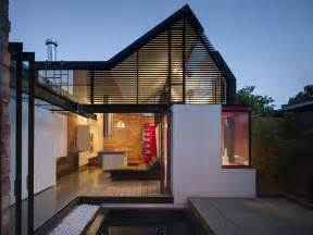 house architect design extension to a terrace in the inner city