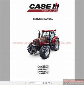 Case Ih Puma 165-225 Cvx Service Manual