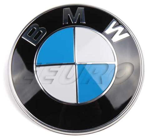 Bmw Roundel Emblem by 51148132375 Genuine Bmw Emblem Roundel 82mm Free