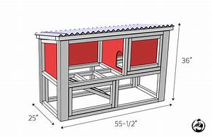 DIY Rabbit Hutch Plans - Free & Easy - Rogue Engineer