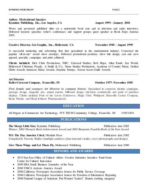 kymberly brady resume