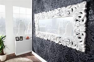 Spiegel An Der Wand Befestigen : barock spiegel mit silberrahmen es lohnt sich ~ Markanthonyermac.com Haus und Dekorationen