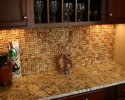 Wine Cork Backsplash Ideas, Pictures, Remodel and Decor