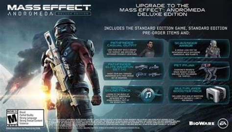 Mass Effect Andromeda Deluxe Edition Discounted To Under