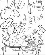 Coloring Chef Pages Kitchen Cooking Fun Chefmaster Pizza Coloringpagesfortoddlers Sheets Restaurant Highschool Dead Baking Printable Adult Collections Getdrawings sketch template