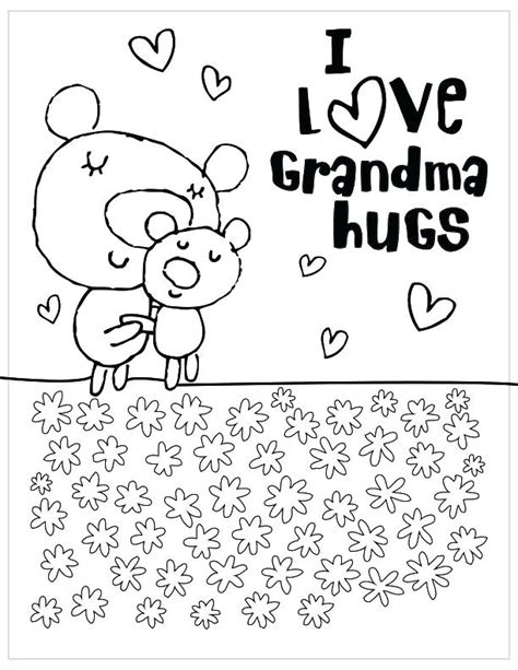 happy mothers day grandma coloring pages  getdrawings