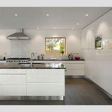 Arbeitsplatte Küche Glänzende Oberfläche Sonnenstr