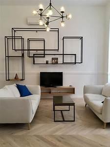 Dekoration Wohnzimmer Modern : modern und schlicht eingerichtetes wohnzimmer wohnzimmer einrichtung livingroom gemeinsam ~ Indierocktalk.com Haus und Dekorationen