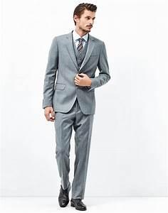 Costume 3 Pièces Gris : costume trois pi ces gris costumes homme roberto verino ~ Dallasstarsshop.com Idées de Décoration