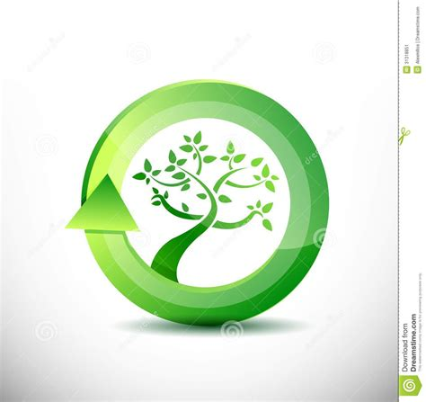 environment friendly design environment tree eco friendly concept stock image image 31318851