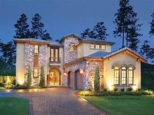 Eplans Mediterranean House Plan - Courtyard Luxury - 3031