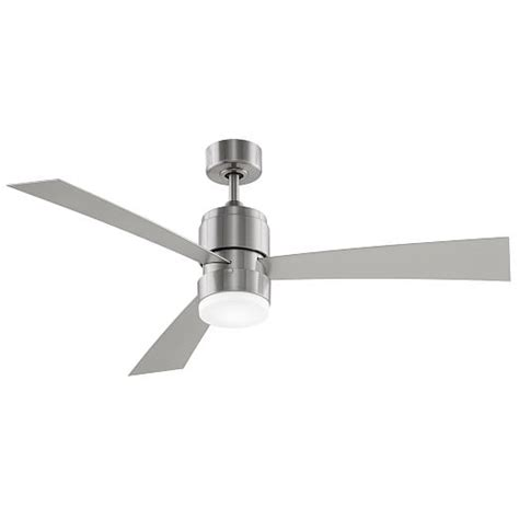 Modern Metal Wood Led Ceiling Fan West Elm