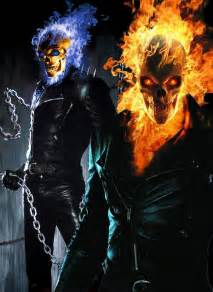 Blue Ghost Rider