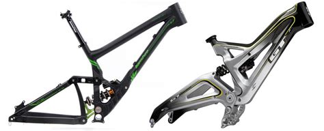 Downhill Mountain Bike Frames