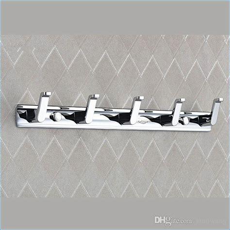 Modern Bathroom Hooks by 2018 Closet Modern Coat Hooks Wall Mounted Aluminum Alloy
