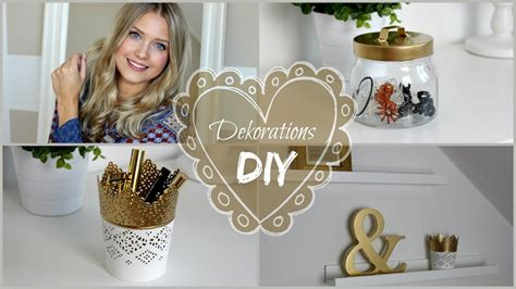 Deko Ideen Diy by Diy Deko Ideen 3 Gold Spray Hacks Deko Zum Selber
