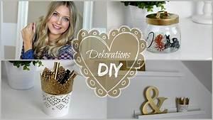Deko Zum Selber Machen : diy deko ideen 3 gold spray hacks deko zum selber machen youtube ~ Watch28wear.com Haus und Dekorationen