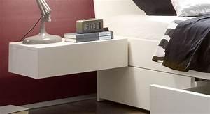 Nachttisch Weiß Günstig : h nge nachttisch mit schublade in wei liverpool ~ Michelbontemps.com Haus und Dekorationen