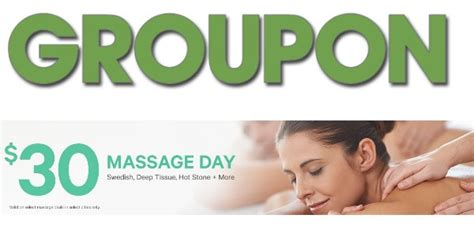 Groupon $30 Massage Day | Living Rich With Coupons®