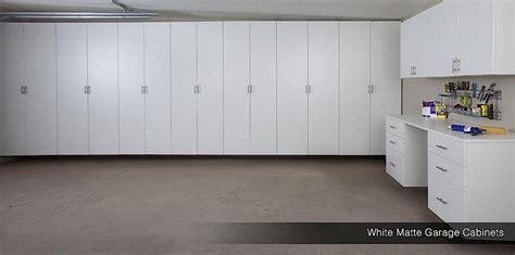 White Storage Cabinets For Garage by Matte Garage Cabinets White Garage Cabinets Silver