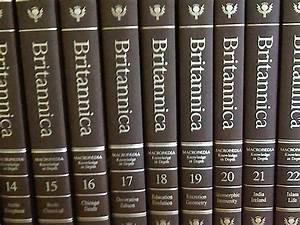 Last Entry For Encyclopedia Britannica Book Form  U2013 Cbs