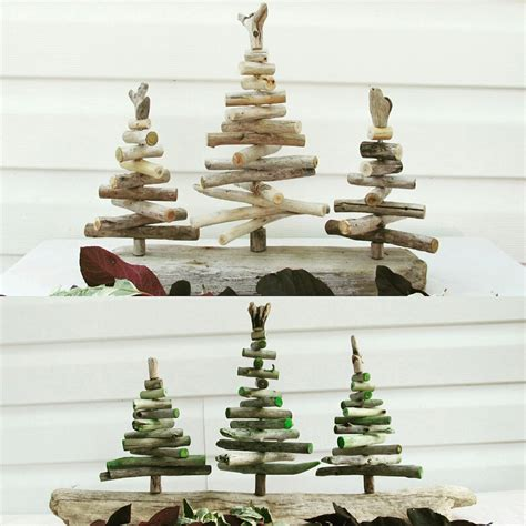 driftwood christmas tree forest driftwood holiday decor