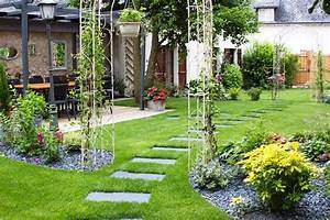 amenager un jardin paysager kirafes With amenager un jardin paysager 3 jardin paysager moderne comment lamenager