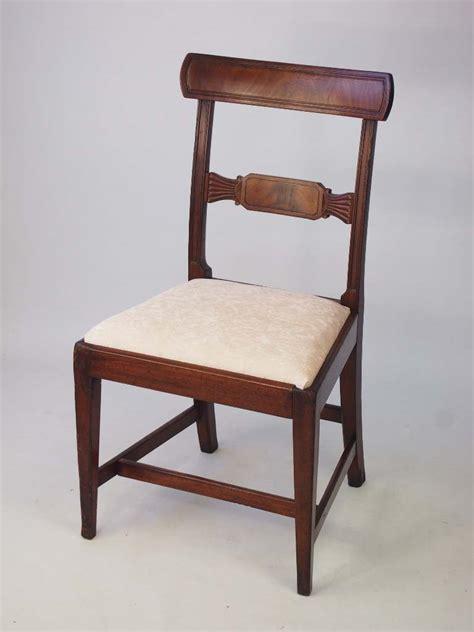Georgian Desk by Antique Georgian Mahogany Desk Chair Side Chair