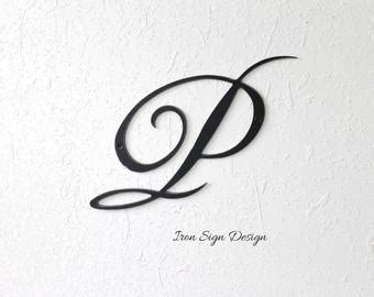 cursive wall letters etsy