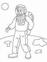 Astronaut Coloring Pages Astronauts Space Printable Costume Preschool Moon Sheets Bestcoloringpages Printables Solar System Neil Armstrong Halloween sketch template