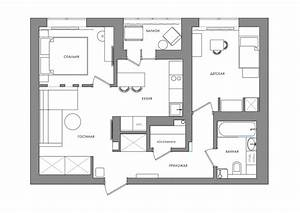 Bright, And, Compact, 1, Bedroom, Apartment, For, Young, Family, Floor, Plan, Included