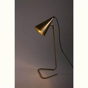 Lampe A Poser Design : lampe poser en laiton brasser par ~ Teatrodelosmanantiales.com Idées de Décoration