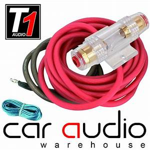 8 Awg 1000 Watt 8 Gauge Car Amplifier Amp Sub Power Earth  U0026 Remote Wiring Kit